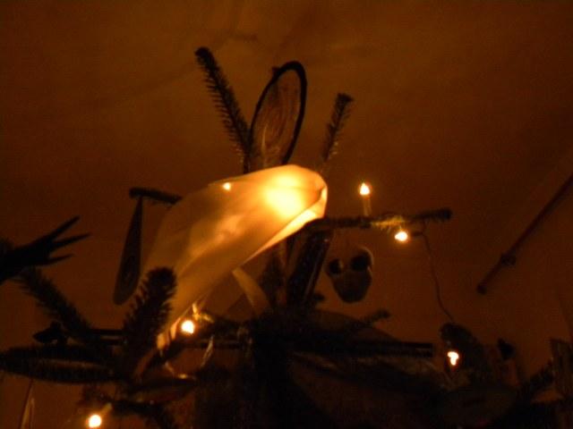 karácsonyfa üstökös